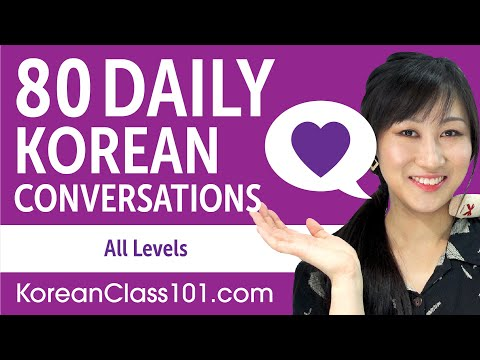 2 Hours of Daily Korean Conversations - Korean Practice for ALL Learners
