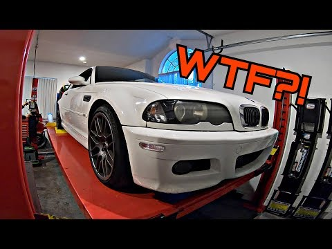 Here's What a 172,000 Mile E46 BMW M3 Looks Like Underneath