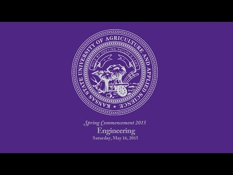 K-State Commencement - Spring 2015   Engineering