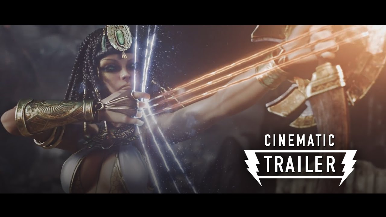 Smite Cinematic Trailer Battleground Of The Gods Youtube
