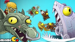 Plants Vs Zombies 2: All World Zomboss Dr. Zomboss Time Travel Journey