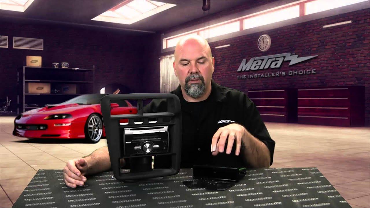 Metra Chevy Camaro Stereo Dash Kit 99 3311b Youtube Radio Wiring Harness