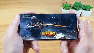 Samsung Note 10 Lite test game PUBG Mobile