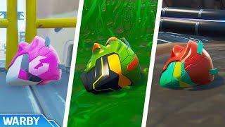 All Singularity Helmet Locations Guide (Unlock Singularity Colors/Styles) - Fortnite
