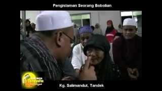 Witch doctor convert to Islam, Kg. Salimandut, Tandek.mp4