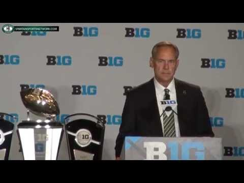 Mark Dantonio 2016 Big Ten Media Day Press Conference