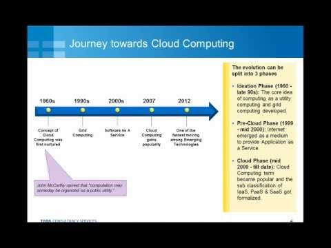 Journey towards cloud computing
