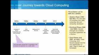 Journey towards cloud computing