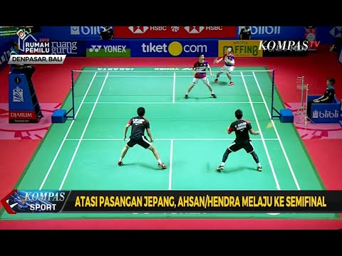 The Daddies dan Minios Melaju ke Semifinal Indonesia Open 2019