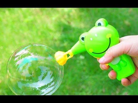 Пистолет для мыльных Пузырей , дешевые игрушки в ФиксПрайс