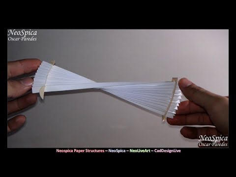 Foldable Accordion Structure / Visual Concepts