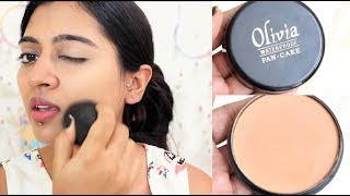 Olivia Pan Cake Makeup _ Review, How to Use Olivia PanCake Concealer? SuperWowStyle Prachi