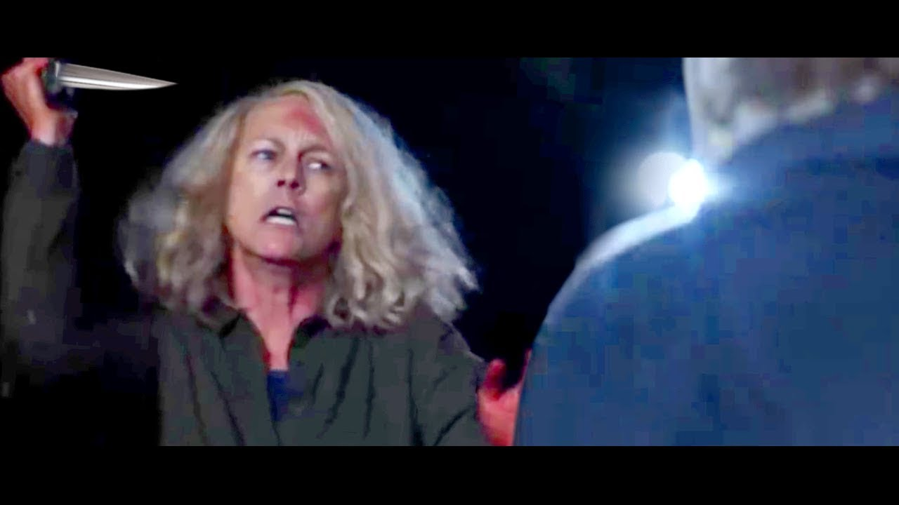 Halloween 2018 Alternate Ending.Halloween Alternate Ending Revealed Michael Myers Laurie Knife Fight