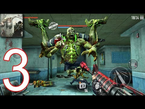 MAD ZOMBIES : Offline Zombie Games - Walkthrough Gameplay Part 3 - R2. HOSPITAL (iOS Android)
