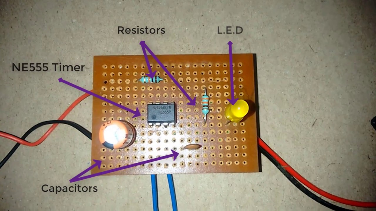 How To Make Touch Sensor By Using 555 Timer Youtube Ne555 Ic Remote Control Light Circuit Diagram