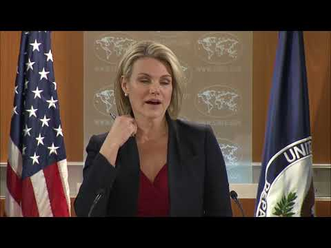 DEPARTMENT OF STATE BRIEFING - HEATHER NAUERT 12/13/2017