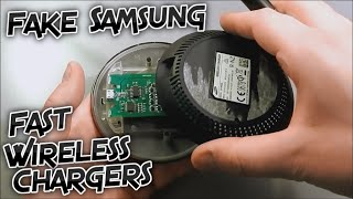 Fake Samsung Fast Wireless Charger (EP-PN920) Review and Teardown