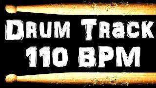 Drum Beat 110 BPM Rock Bass Guitar Backing Jam Track Free MP3 Download Loop #40