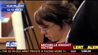 Michelle Knight EMOTIONAL Statement. Ariel Castro Sentencing