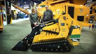 S800TX Gasoline Mini Skid Steer | Vermeer Tree Care Equipment