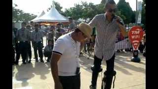 Skyrunner feet 30 Cent...Serasi Bersama@Himpunan Jutaan Belia 2012