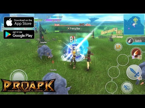 Sword Art Online: Integral Factor English Gameplay Android / IOS (Open World MMORPG)