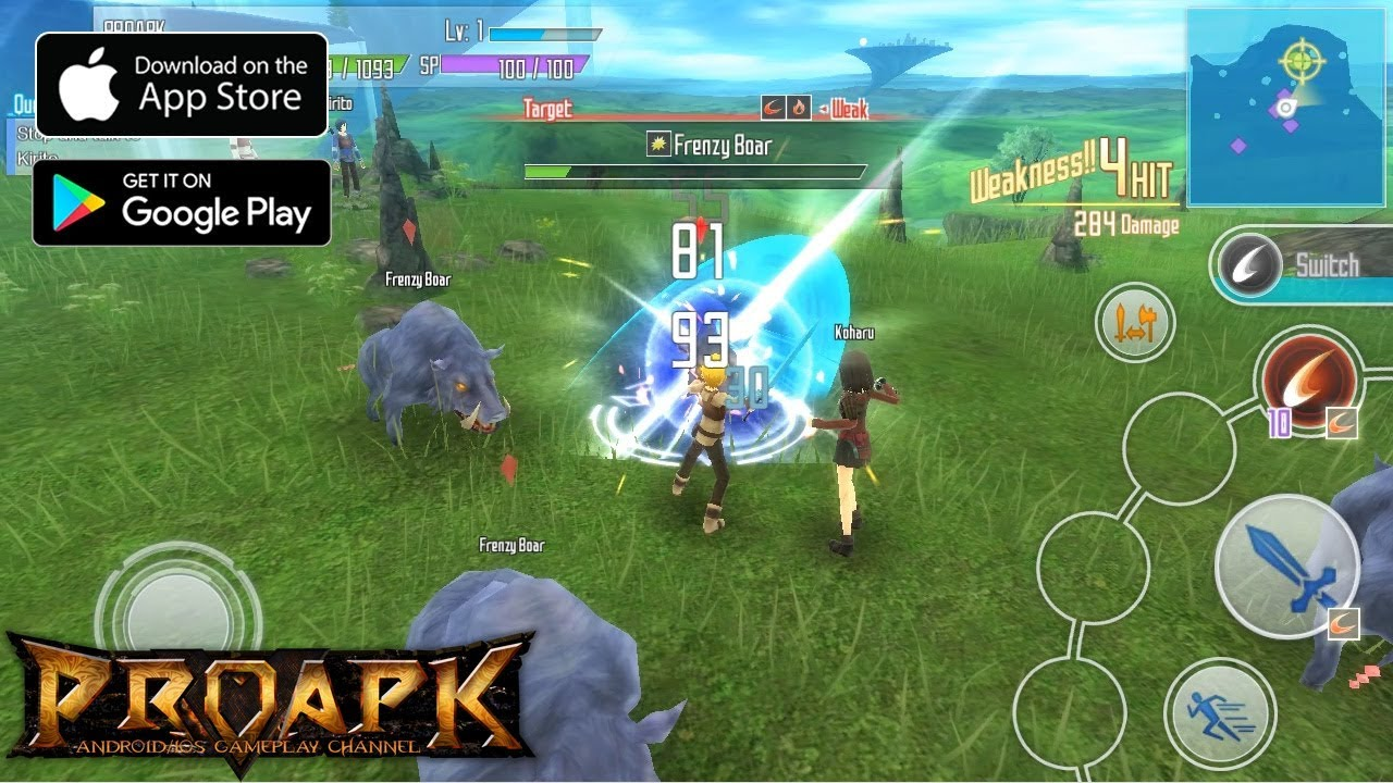 sword art online  integral factor english gameplay android