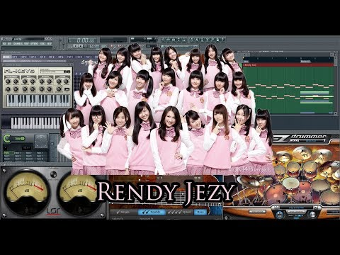 JKT48 - Heavy Rotation (Karaoke) Versi Band By Rendy Jezy