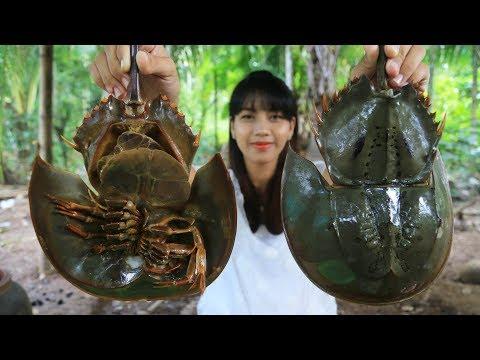 Yummy cooking Horseshoe Crab Salad recipe - Cooking skill