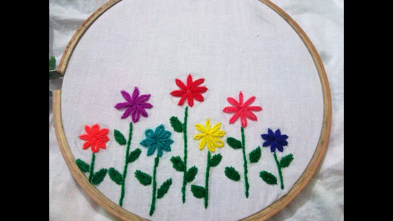 Hand Embroidery Lezy Desy Hand Stitch Design By Nakshi ...