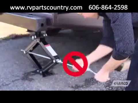 Camco Scissor Jack Drill Adapter At Rv Parts Country Youtube