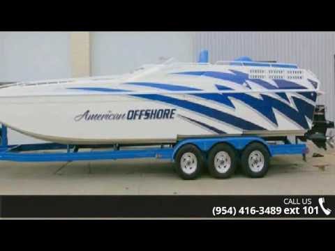 1997 American Offshore 3100 Cat  - FastBoats Marine Group...