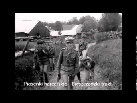 Bieszczadzki trakt - Tekst - Piosenki harcerskie