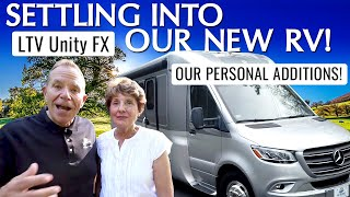 How We Made Our New RV OURS! Settling Into The Unity