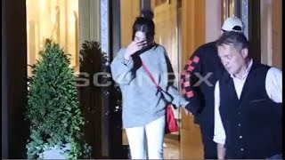 Selena Gomez & The Weeknd Holding Hands Leaving Nobu In New York, NY 9/3/2017