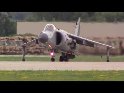 Art Nalls Sea Harrier Vertical Take off HD