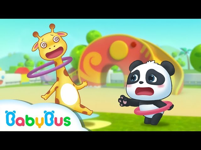 Baby Panda's Hula Hoop Match | BabyBus Sport Meeting | Top Songs & Animation | BabyBus