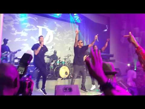 Da LES - Real Stuff Live Performance (ft AKA & Maggz)