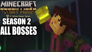 Minecraft Story Mode Season 2 All Bosses