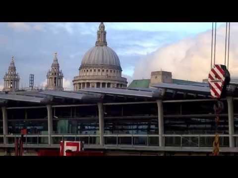 Underground & Overground - London Blackfriars National Train Station,London UK