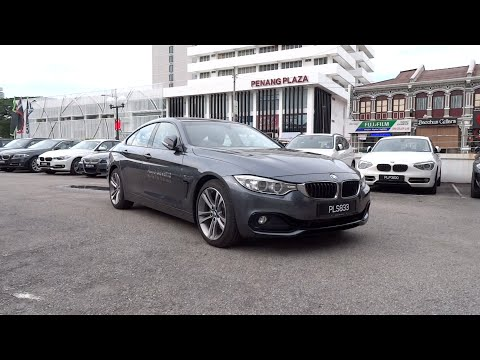 2014 BMW 428i Gran Coupe Sport Line Start-Up and Full Vehicle Tour