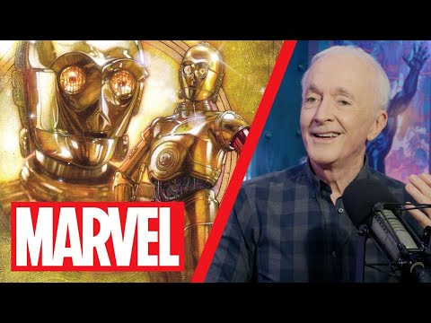Anthony Daniels (aka C-3PO!) Talks Star Wars & Practical Effects!