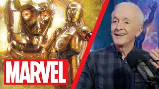 Anthony Daniels (aka C-3PO!) Talks Star Wars & Practical Effects!