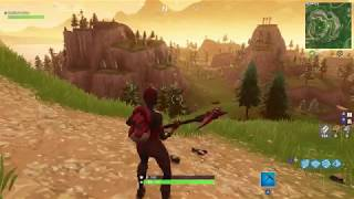 *NEW* CRIMSON AXE FORTNITE HARVESTING TOOL SOUNDS (IN GAME) AND INFINITE DAB