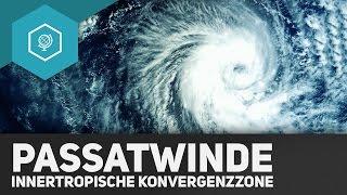 Passatwinde und Innertropische Konvergenzzone