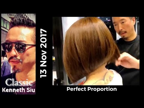 Kenneth Siu's Bob Haircut 2018