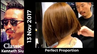 Kenneth Siu's Bob Haircut - Kimberly