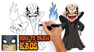 How to Draw Kaos | Skylanders