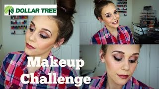 Dollar Tree Makeup Challenge Take 2 | Tag: Beauty on a Budget