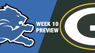 Lions vs. Packers Preview (Week 10) | NFL